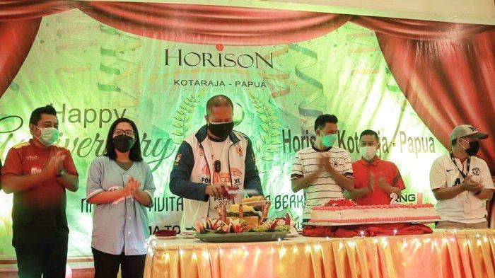 Hotel Horison Kotaraja Terapkan Prokes Covid-19 Disela-sela Perayaan Ulang Tahun