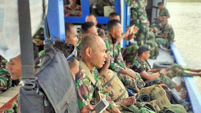 Perjuangan Satgas TMMD Menuju Kampung Kogir di Papua, Tempuh Perjalanan 2 Hari demi Bangun Negeri
