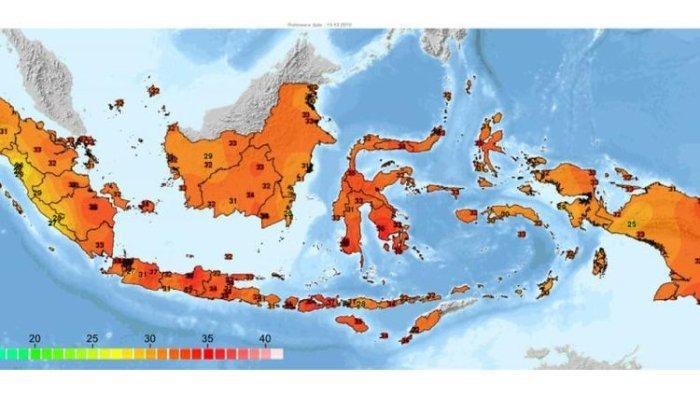Cuaca Panas Landa Indonesia, BMKG Sebut 3 Daerah Ini Miliki Suhu Tertinggi
