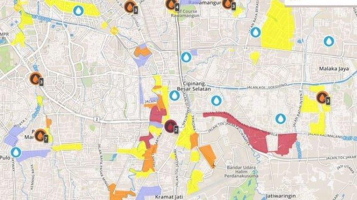Daftar Ratusan Titik Banjir di Jakarta Hari Ini, Terparah Sampai 3 Meter di Cawang