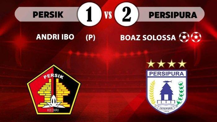 Pelatih Persik Kediri Ungkap Alasan Kekalahan dari Persipura Jayapura dengan Skor 1-2