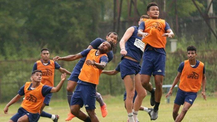 Kabar Baik, Ada 2 Sosok Baru di Sesi Latihan Persipura Jayapura Jelang Laga Kedua Liga 1 2021