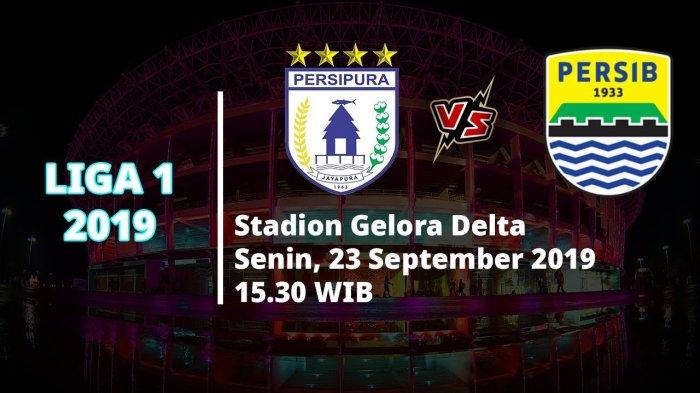 VIDEO Live Streaming Liga 1 2019, Persipura Jayapura Vs Persib Bandung Sore Ini Pukul 15.30 WIB