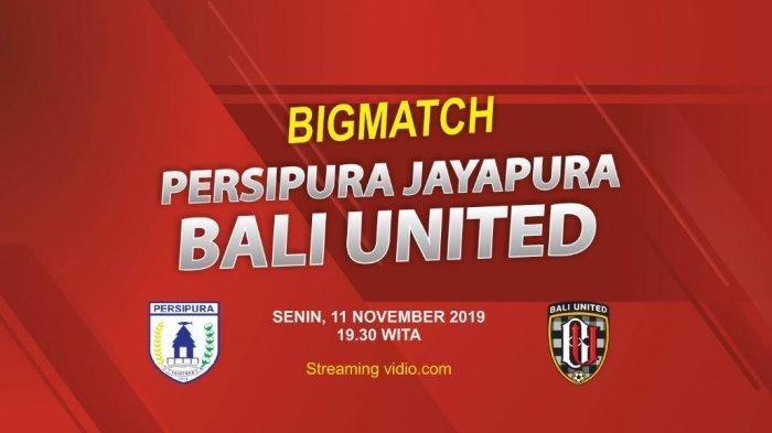 Jadwal Persipura Vs Bali United Alami Perubahan, Kick Off Dimajukan Jadi Sore Hari