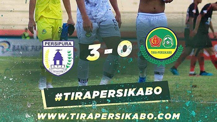 VIDEO Gol Brace Ferre dan Tendangan Penalti Boaz Bawa Persipura Unggul 3-0 atas PS Tira Persikabo