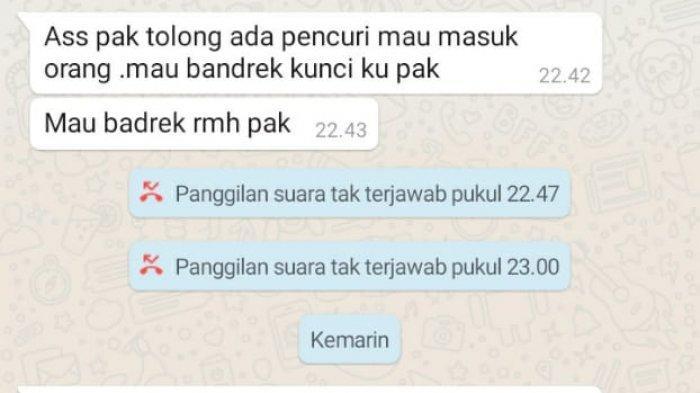 Korban ketika memberitahukan kejadian yang menimpahnya, sebelum ditemukan tewas tanpa busana di rumahnya yang beralamat di Argapura Bawah, Distrik Jayapura Selatan, Kota Jayapura Papua