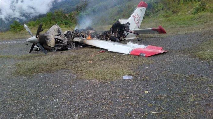 Kronologi Detik-detik OPM Ancam Pilot dan Bakar Pesawat di Papua, Lakukan Provokasi ke Penumpang