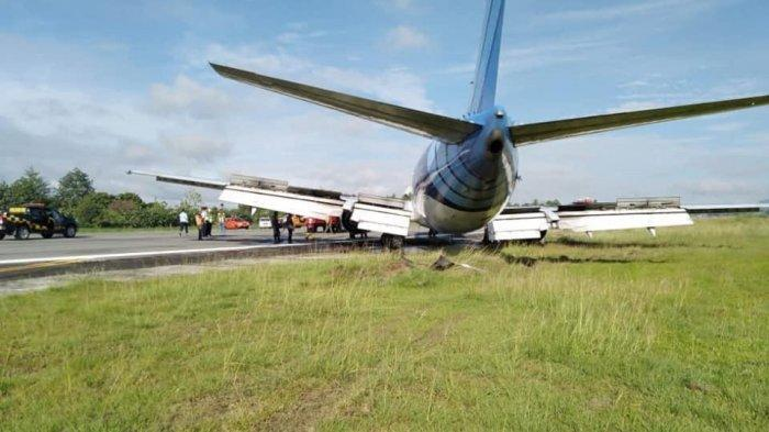 Pesawat Trigana Air Tergelincir di Bandara Sentani, Ratusan Penumpang di Bandara Wamena Terlantar