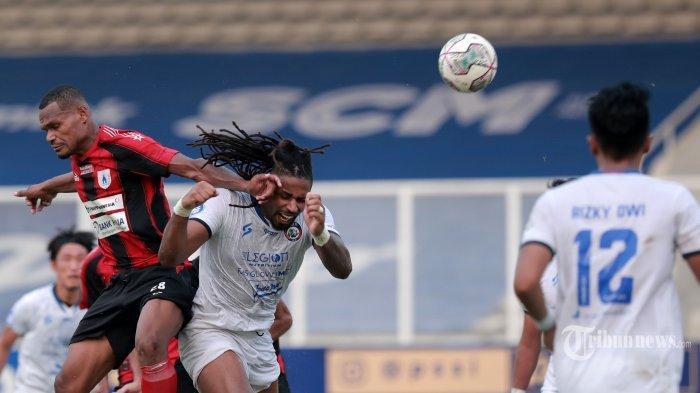 Klasemen Sementara Pekan ke-5 Liga 1 2021: Bali United Terdepak dari Puncak, Persipura Merosot Lagi