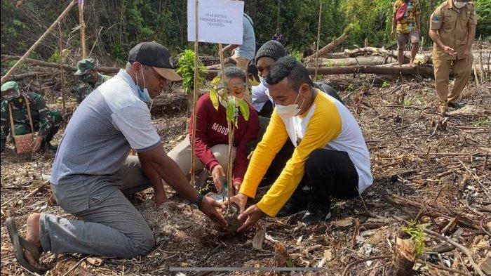 Percepatan Papua dan Papua Barat, Presiden Jokowi Dorong Program Petani Milenial