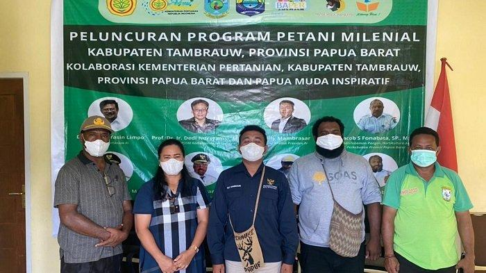 Tambrauw Jadi Kabupaten ke- 5 di Papua Dukung Program Ketahanan Pangan Nasional Presiden Jokowi