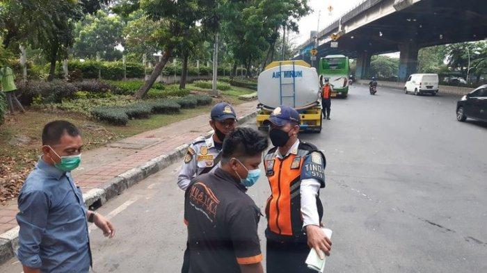 Oknum Petugas Dishub DKI yang Pungli Sopir Bus Kembalikan Uang Rp500 Ribu, Begini Kronologinya