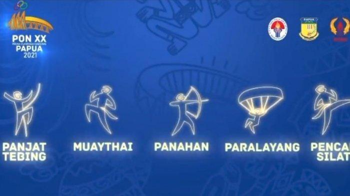 Piktogram PON XX Papua Perkenalkan Event dengan Bahasa Unik dan Universal