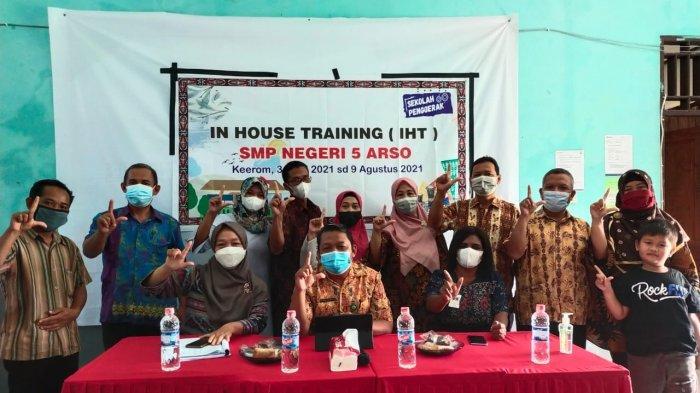 SMP 5 Arso Papua Jadi Pilot Sekolah Penggerak Pertama