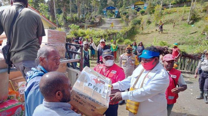 PMI Papua Distribusikan Bantuan bagi Masyarakat terdampak di Kabupaten Intan Jaya