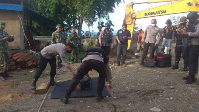 Pekerja Temukan Granat Aktif di Bawah Jembatan di Mimika Papua, Diduga Masih Aktif
