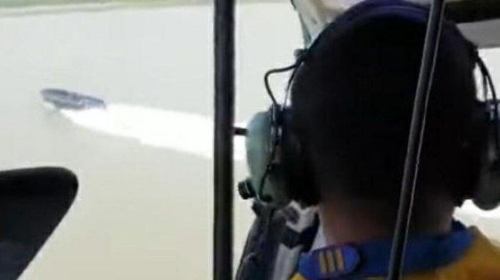 Helikopter Polisi Berondong Tembakan ke Kapal Hantu, semakin Melaju Kencang saat Disuruh Berhenti
