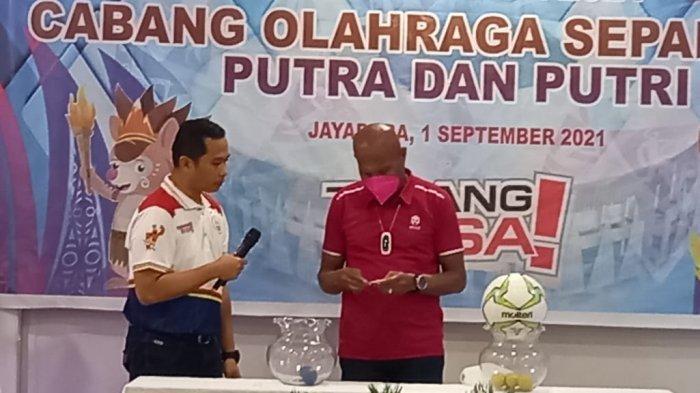 Sepakbola PON XX Papua Putra dan Putri Masuk Group A