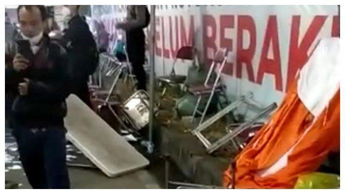 Viral Video Pos Penyekatan Suramadu Surabaya Ricuh, Warga: KTP Hilang, Aparatnya Kurang Adil