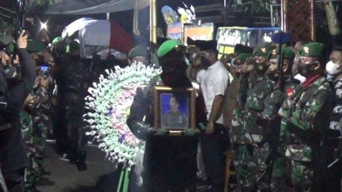 Pratu Sul Ansyari Anwar Dimakamkan Secara Militer