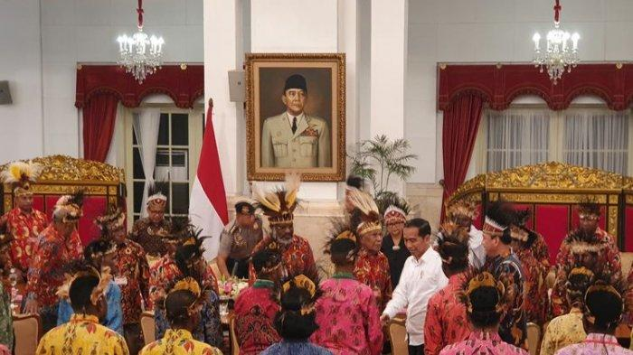 Tokoh-tokoh Papua Ajukan 9 Permintaan saat Bertemu Presiden Jokowi di Istana Negara