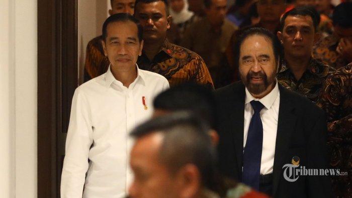 Penutupan Kongres Nasdem: Ungkapan Sayang Surya Paloh ke Megawati dan Pelukan Eratnya dengan Jokowi