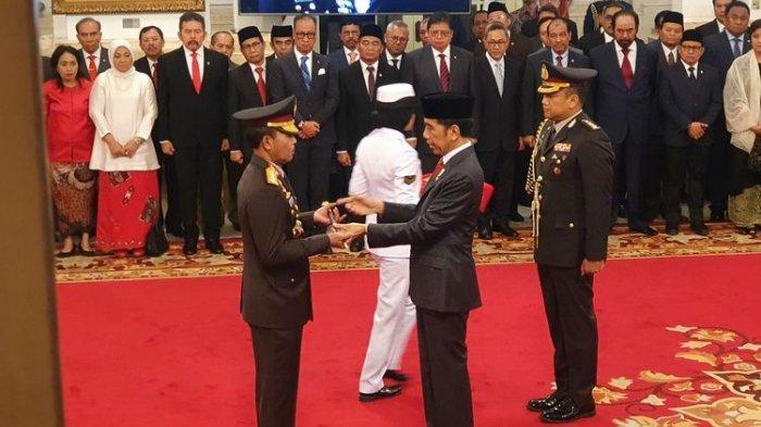 Idham Azis Resmi Dilantik Jokowi Jadi Kapolri