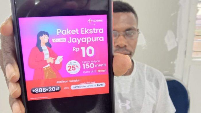 Aktivasi Internet Gratis untuk Pelanggan Telkomsel di Jayapura Berlaku Sampai 22 Juni 2021