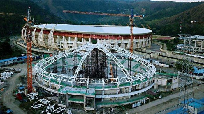 Progres Terbaru Pembangunan Venue PON 2020 Papua