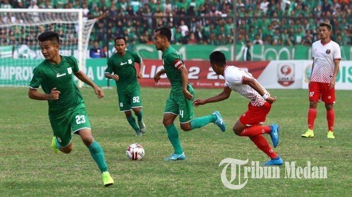 Hasil Pertandingan dan Klasemen Sementara Liga 2 2019: PSMS Tumbang, Sriwijaya - Persijaraja Menang