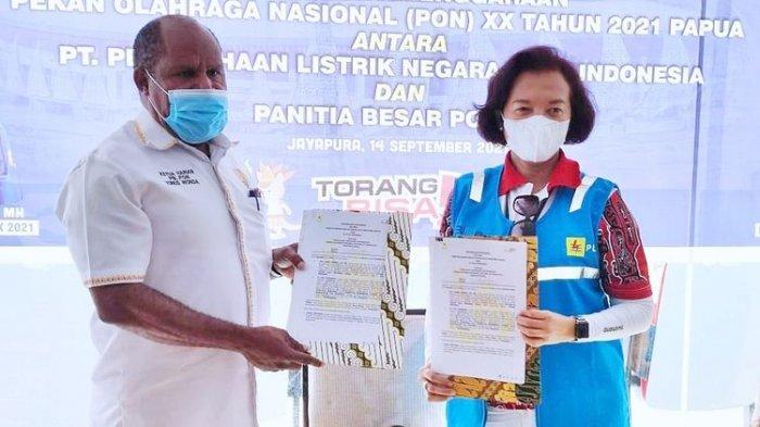 Sumbang PON XX Papua Dana Sebesar Rp5 M, PLN Juga Investasi Rp300 Miliar untuk Pembangunan Listrik