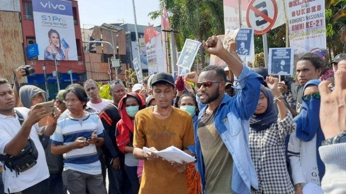 Polisi Bubarkan Aksi Mahasiswa Papua di Ambon yang Tuntut Referendum