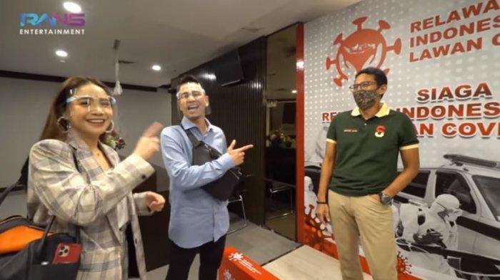 Sandiaga Uno Tertawa Dengar Dirinya Dibandingkan, Raffi Ahmad: Sama Gua Aja Kelihatan Tua Gua