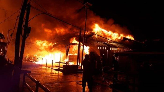 Kebakaran Hebat di Asmat, Ratusan Korban Ditampung di 3 Lokasi