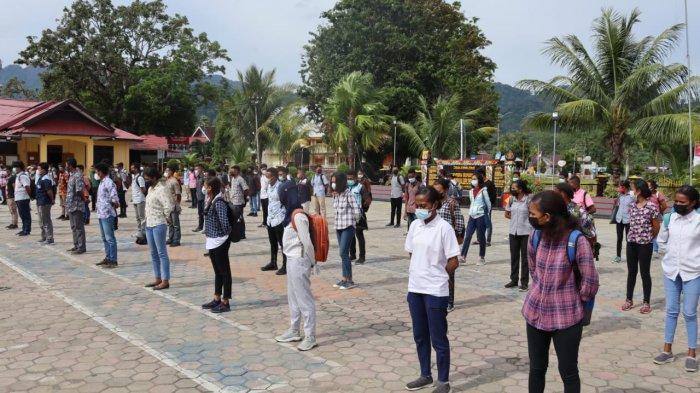 Casis Bintara Polri Jalur Otsus di Polres Manokwari Tembus 2.900 Pendaftar