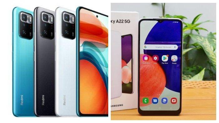 Perbandingan Xiaomi Redmi Note 10 5G dan Samsung Galaxy A22 5G, Spesifikasi dan Harga Hampir Sama