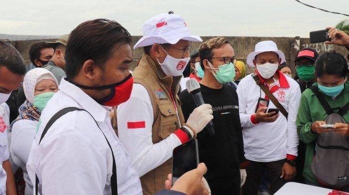Tagar GoodbyeSandiagaUno Trending Twitter, Aksinya Bagikan Sembako dengan Relawan Jokowi Jadi Pemicu