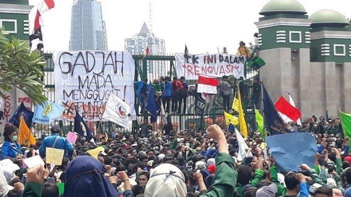Desak Perppu KPK, BEM SI Pastikan Mahasiswa Gelar Demonstrasi di Depan Istana Siang Ini
