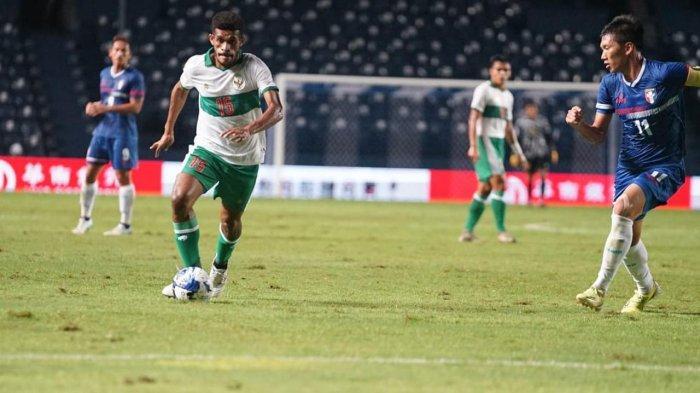 Cetak Gol Bantai Taiwan, Ricky Kambuaya Main Enerjik Bersama Timnas Indonesia