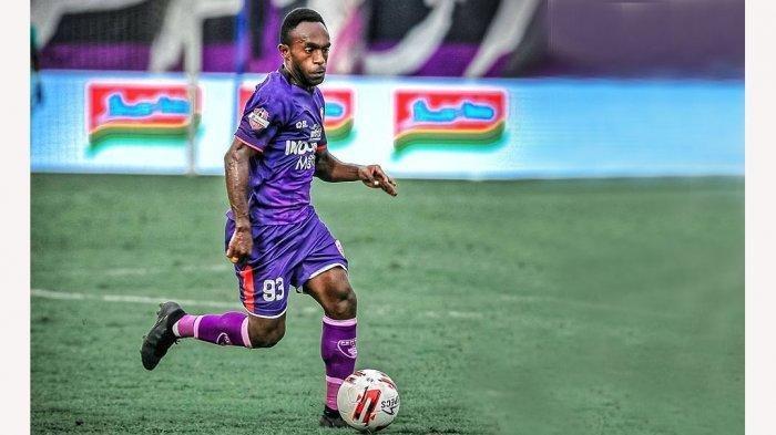 Ricky Kayame, sayap Persita Tangerang mundur dan akan bergabung dengan Arema FC atau Persipura Jayapura