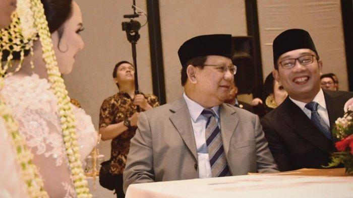 Saling Berbisik saat Bertemu Prabowo, Ridwan Kamil Klaim Tak Ada Obrolan Politik: Boro-boro