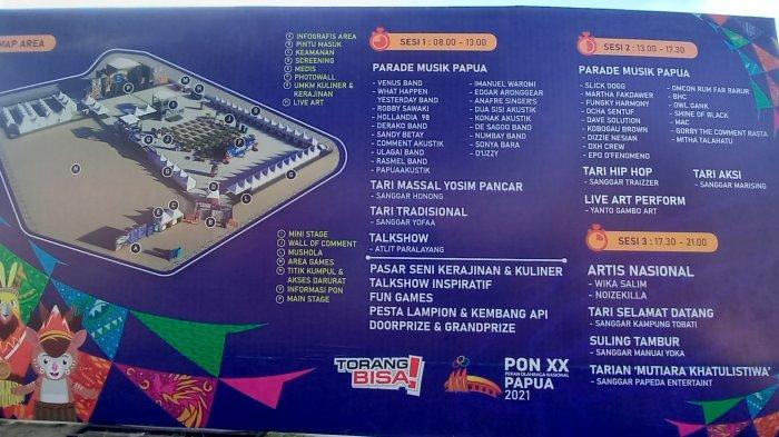 Gebyar PON XX Klaster Kota Jayapura Digelar Besok, Ini Rincian Acaranya