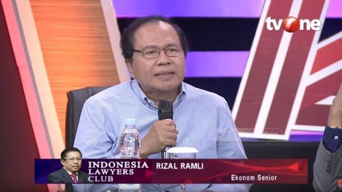 Bahas Politik Uang, Rizal Ramli: Mereka Nyolong Ramai-ramai Partai-partai Ini sampai Rp 70 T Setahun