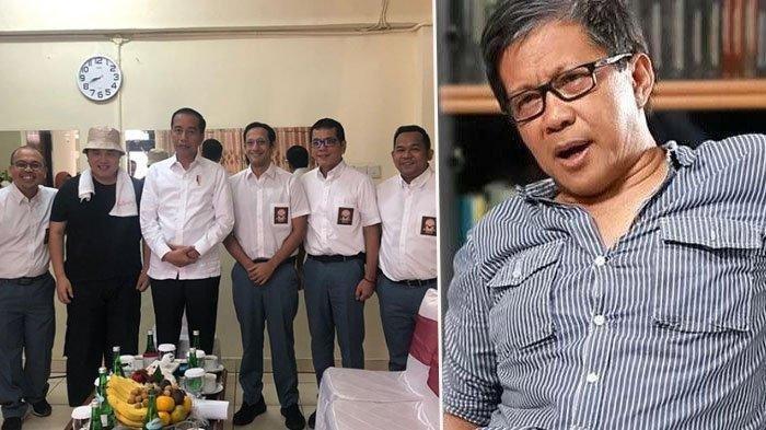 Rocky Gerung Kritik Jokowi yang Tak Hadiri KPK Pakai Rompi Oranye: Simbolkan Presiden Bisa Dibekuk