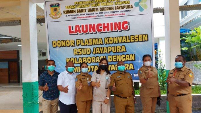 Gandeng PMI, RSUD Jayapura Luncurkan Program Donor Plasma Konvalesen