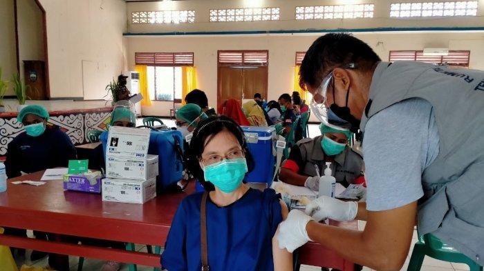 Gelar Vaksin Massal, Gugus Tugas Covid-19 Manokwari Targetkan 3000 Orang