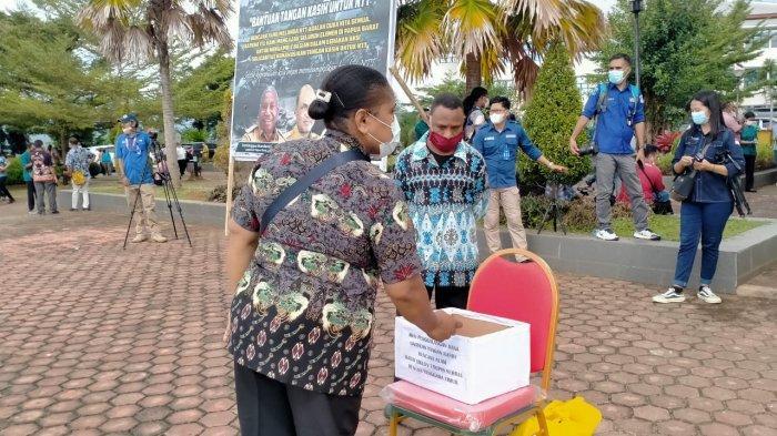 Galang Dana untuk Korban Bencana di NTT, Seluruh ASN Provinsi Papua Barat Gelar Apel Luar Biasa