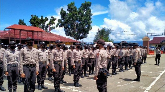 119 Siswa Dikembalikan ke SPN Polda Papua Guna Ikuti Pembelajaran Tatap Muka