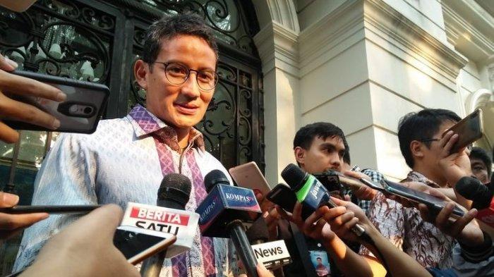 Ungkap Alasannya Kembali ke Gerindra, Sandiaga: Platform Perjuangannya Sama, Awal Berpolitik di Sini