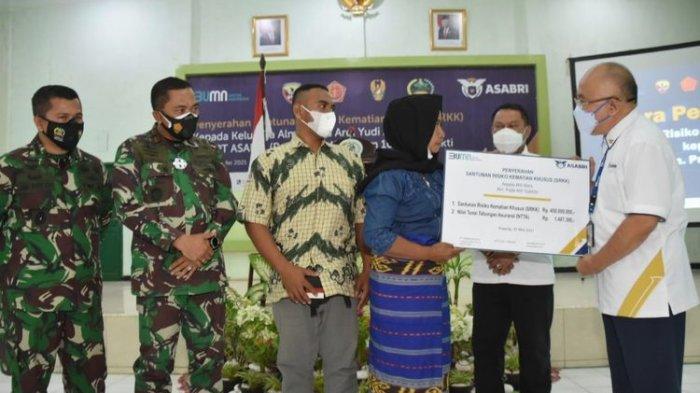 Ahli Waris Prajurit Korban Penyerangan KKB Dapat Santunan Rp 450 Juta dari PT Asabri